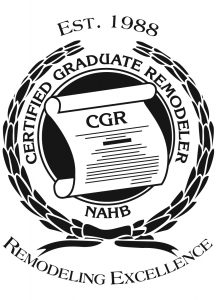 Zak Fleming Earns Certified Graduate Remodeler Designation